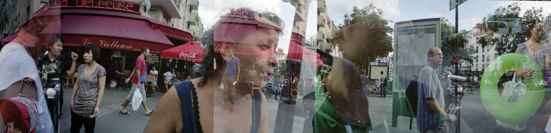 Rue de Belleville. 2012.