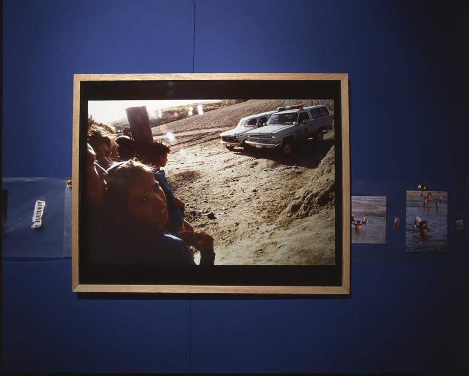 Une photographie de Bernard Baudin (Canon Zapata) dans l'exposition.