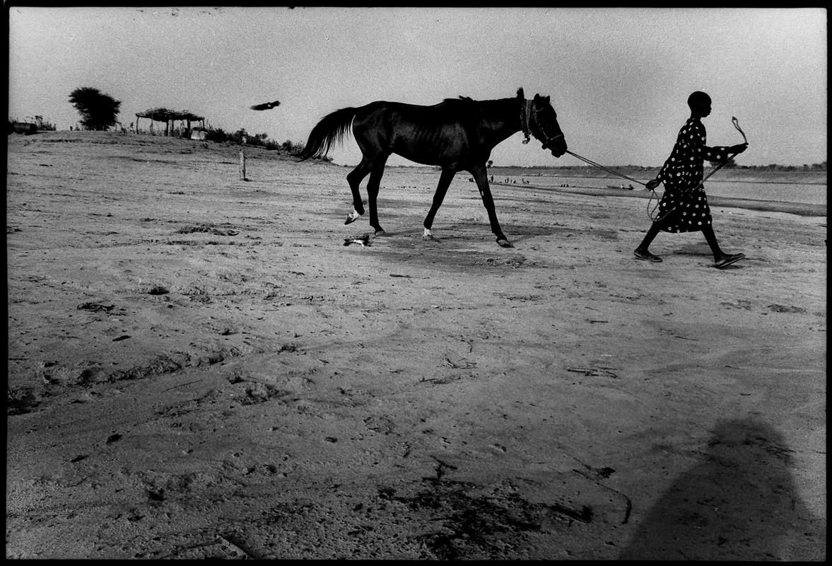 L'enfant au cheval. 1995