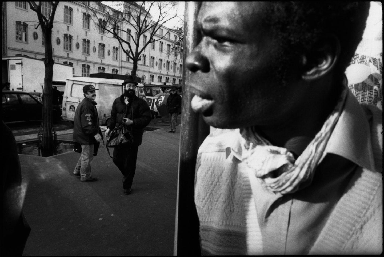 Boulevard de Belleville.ˆ Paris. 1993.