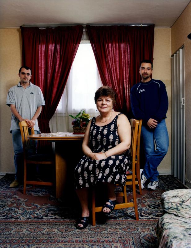Famille Malandra. Une photographie réalisée à deux, avec Olivier Pasquiers.