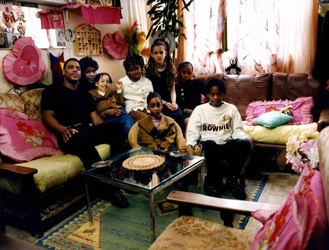 Famille Geli. Une photographie réalisée à deux, avec Olivier Pasquiers.