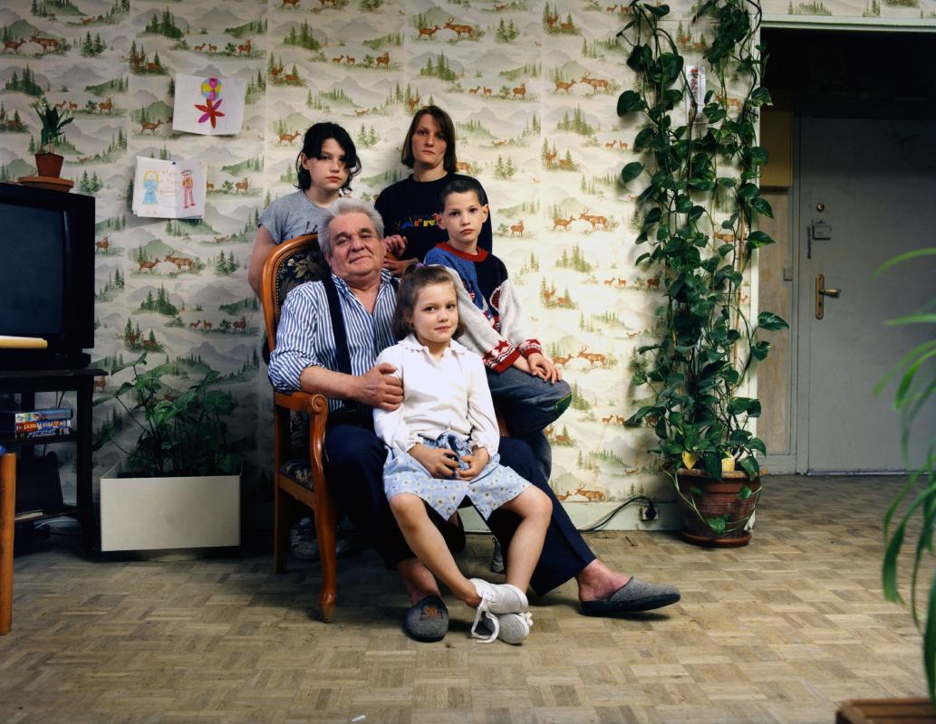 Famille Tillet. Une photographie réalisée à deux, avec Olivier Pasquiers.