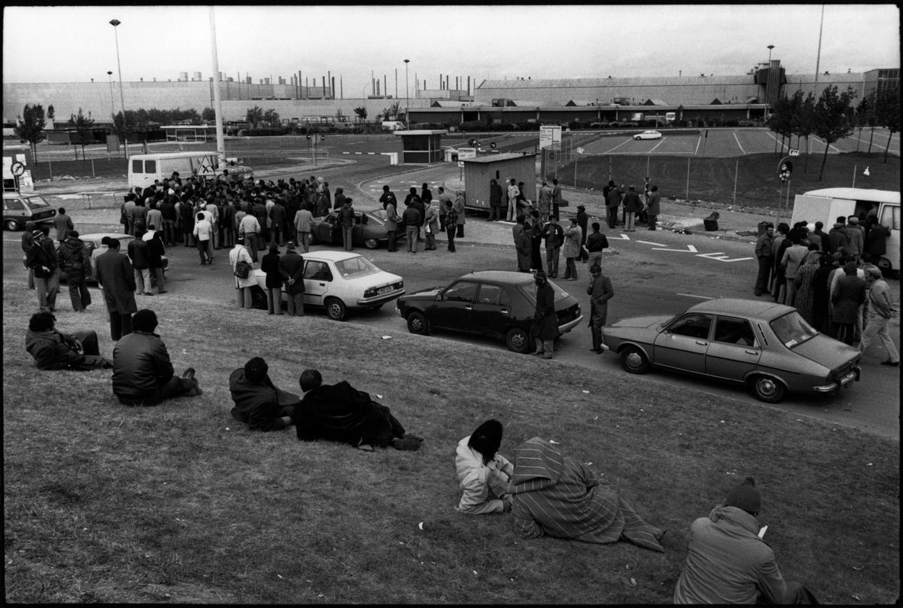 Citroën Aulnay, la première grève. 1982.