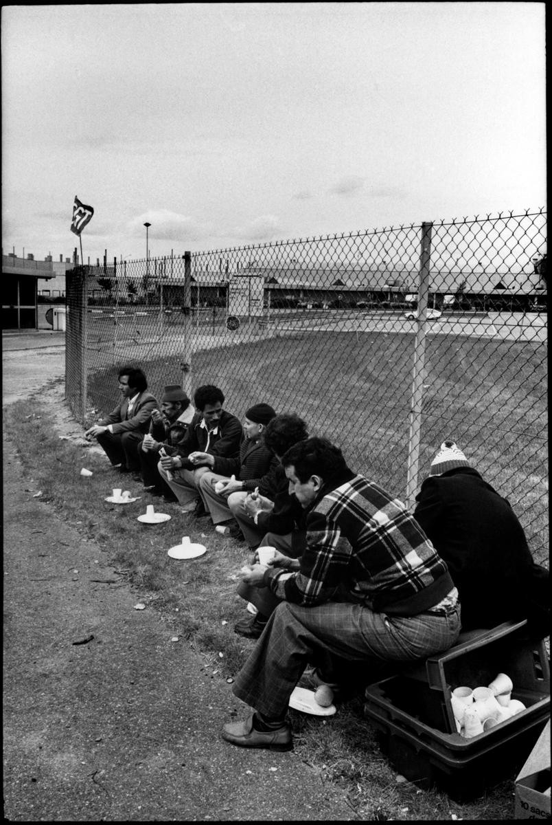 Grve de l'usine Citro'n d'Aulnay-sous-Bois, avril/mai 1982.