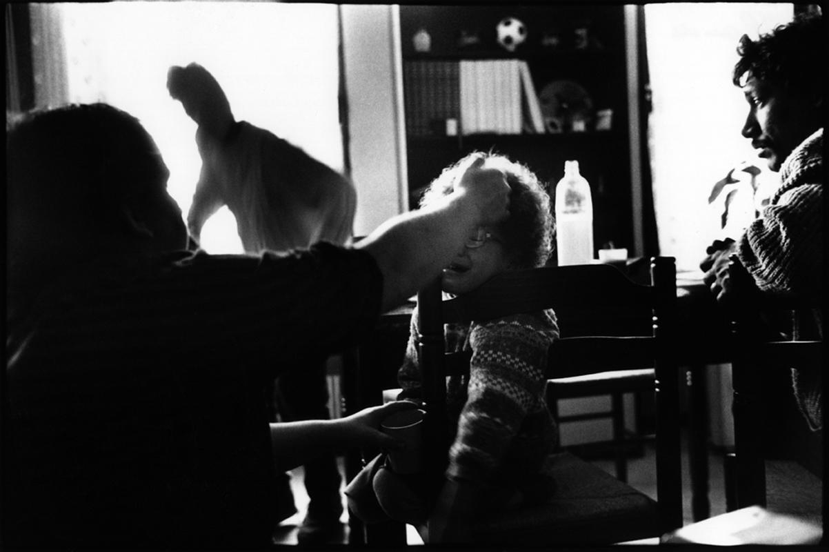 Pauvre France, Annemasse (Haute-Savoie) 1988.