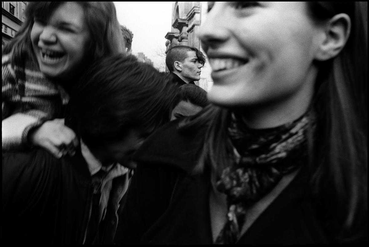 Contre le CPE (Contrat Première Embauche), Paris, printemps 2006.