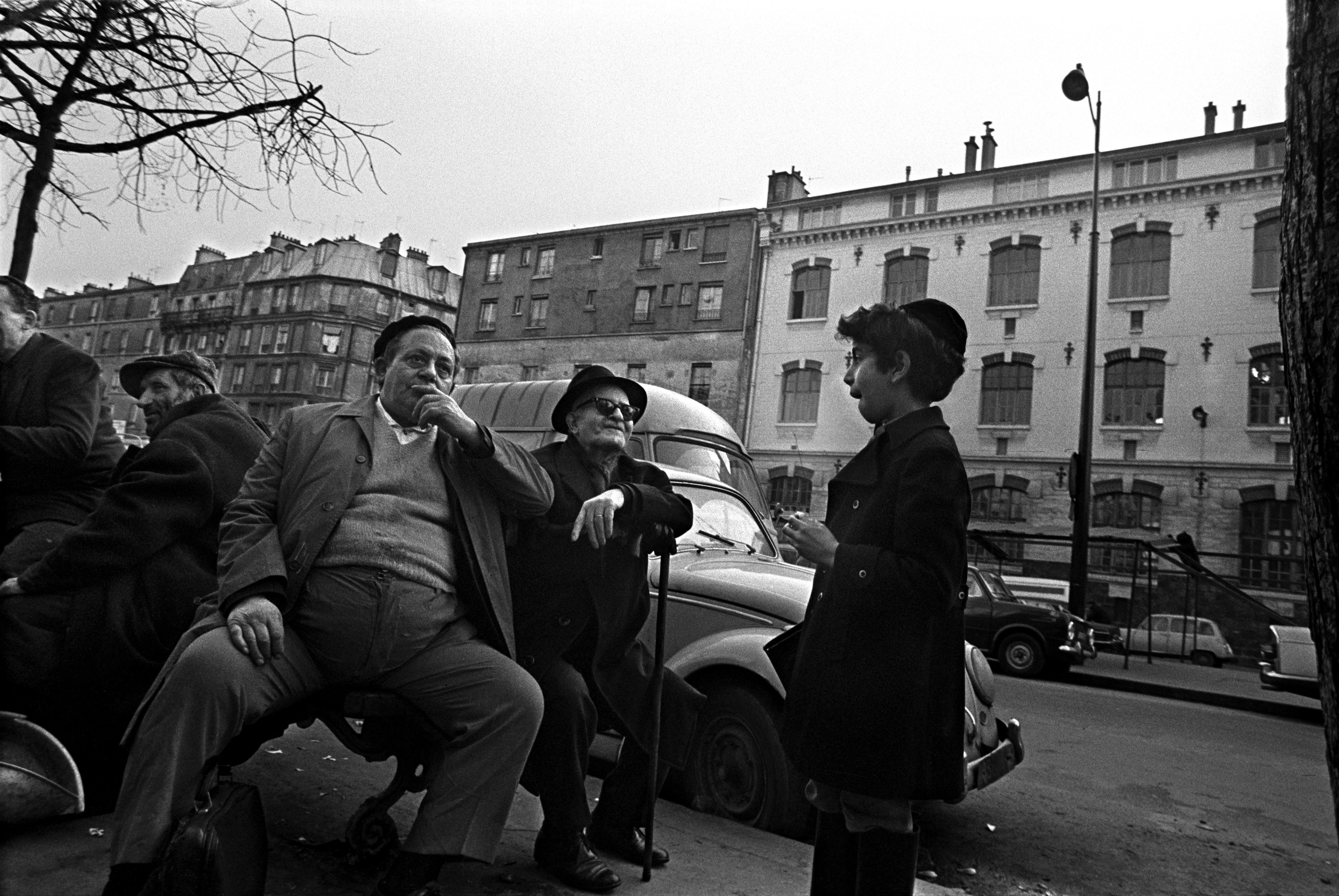 Boulevard de Belleville. 1972.