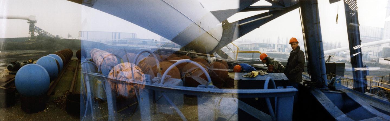 EDF, centre de production thermique de Vitry-sur-Seine, 1998.