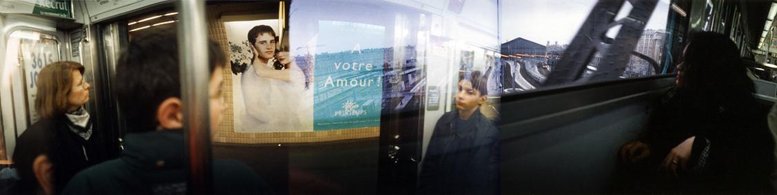 Métro-séquences, Paris, 1996.