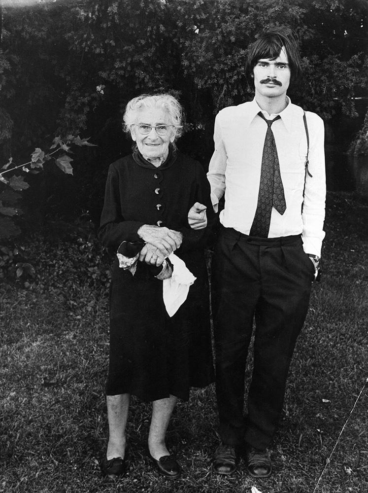 Marguerite et André, son dernier petit fils