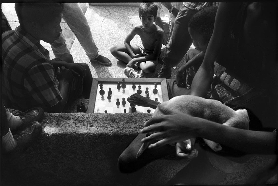Partie d'échecs, calle 19..